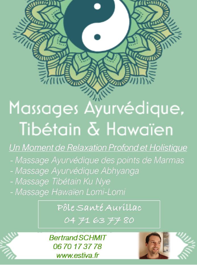 Massages Ayurvédique,Tibétain et Hawaïen...