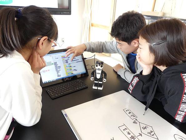 ロボットプログラミング体験講座①