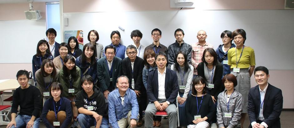 松田孝先生、三原におこしいただきました