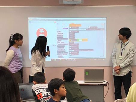 ロボットプログラミング体験講座(10月28日)