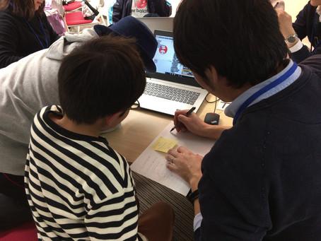 RoFReCは、学習塾のプログラミング授業を請け負っています。