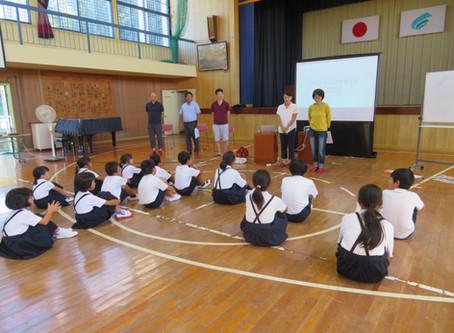 鷺浦小学校で、出前授業を実施しました。