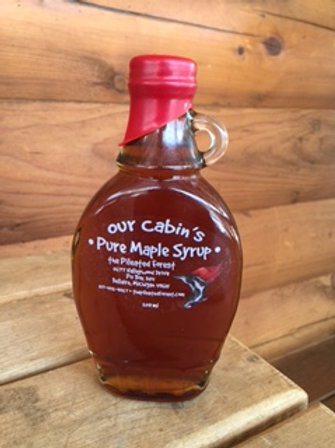 Our Cabin's Pure Maple Syrup (250 ml traditional)
