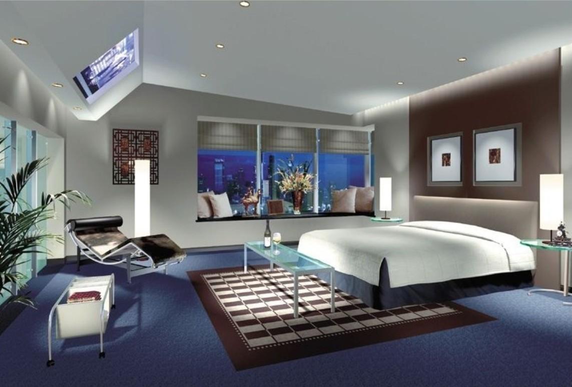 Bedroom luxury carpet