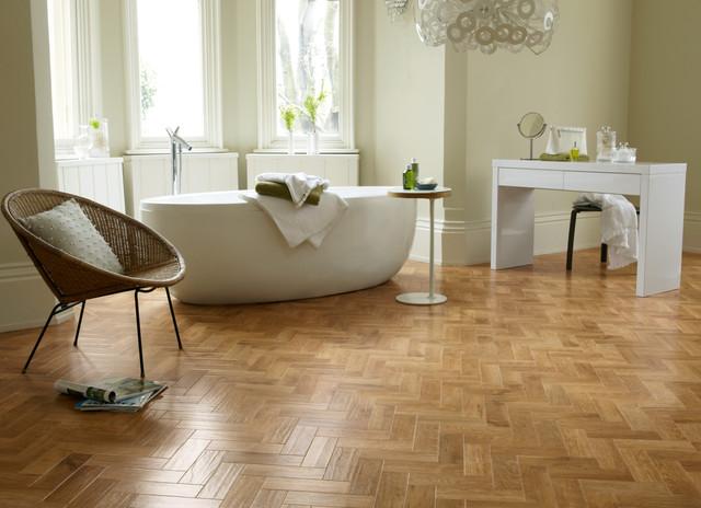 Luxury vinyl flooring