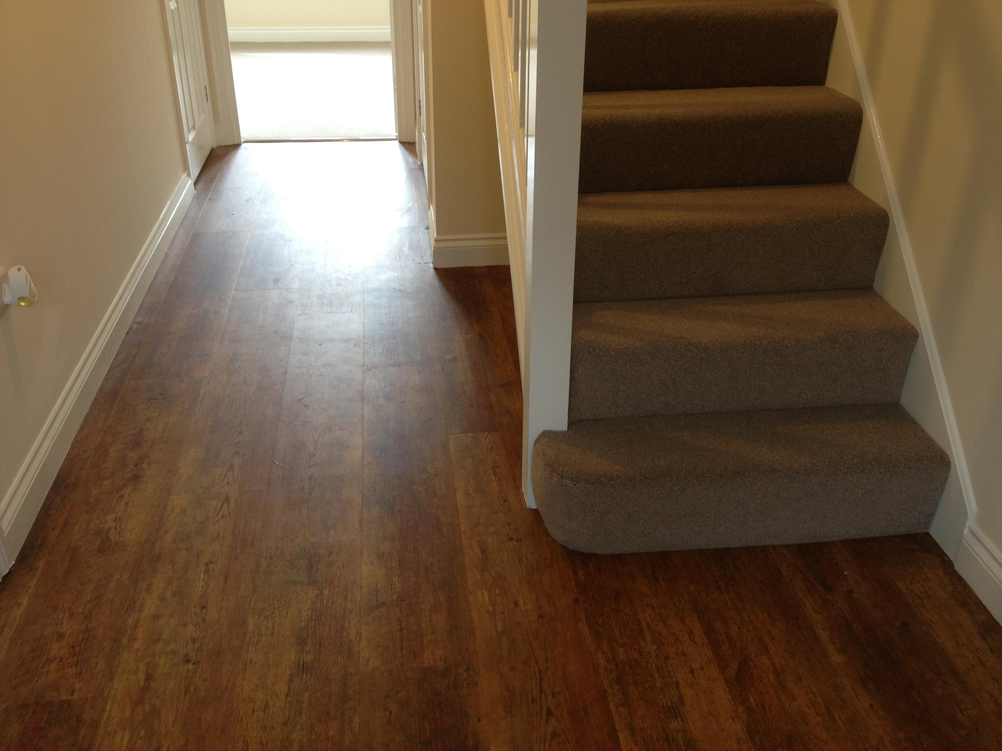 Hall wooden flooring