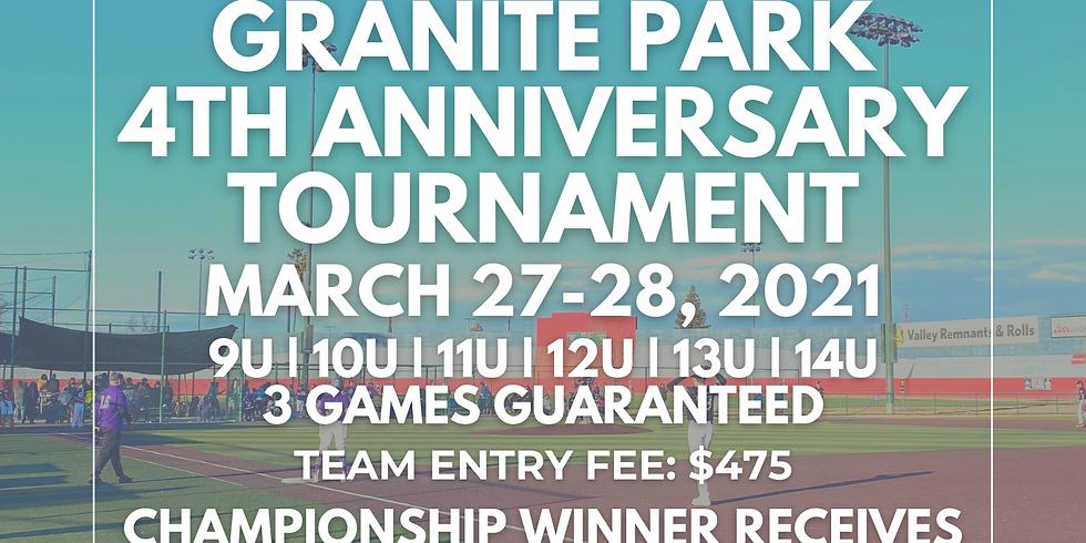 Granite Park 4th Anniversary Tournament