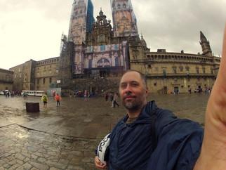Santiago de Compostela - A Chegada