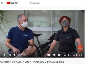CONHEÇA O CICLISTA QUE ATRAVESSOU O BRASIL DE BIKE