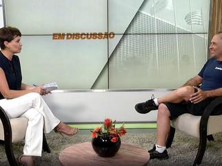 """PROGRAMA """"EM DISCUSSÃO"""" - TV CÂMARA"""