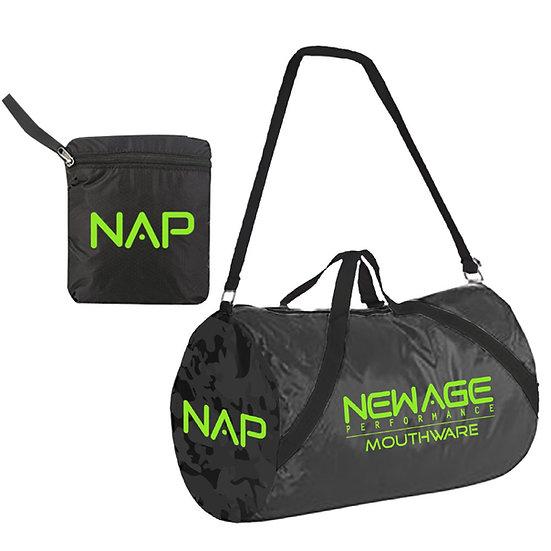Nylon Fold-Up Gym Bag