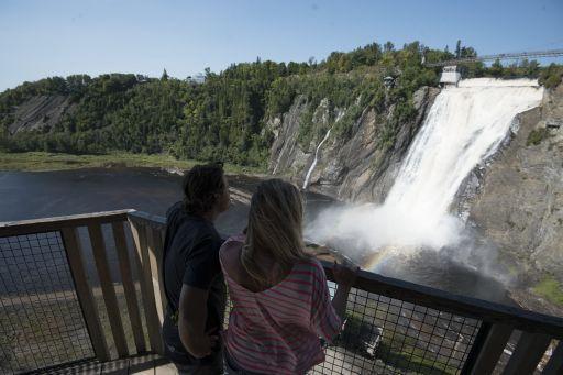Visite privée de Quebec et sa region - chute Montmorency - Unique Quebec Tours - tours privés