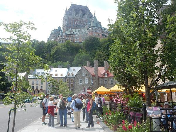 Visite privee a pied du Vieux-Quebec - Place Royale - Chateau Frontenac - Unique Quebec Tours - tours prives