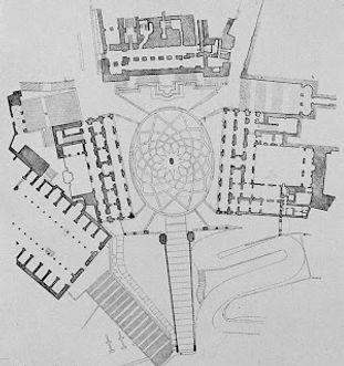 09 Roma, complesso del Campidoglio, plan