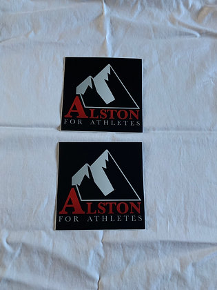 Alston for Athletes Stickers (2)