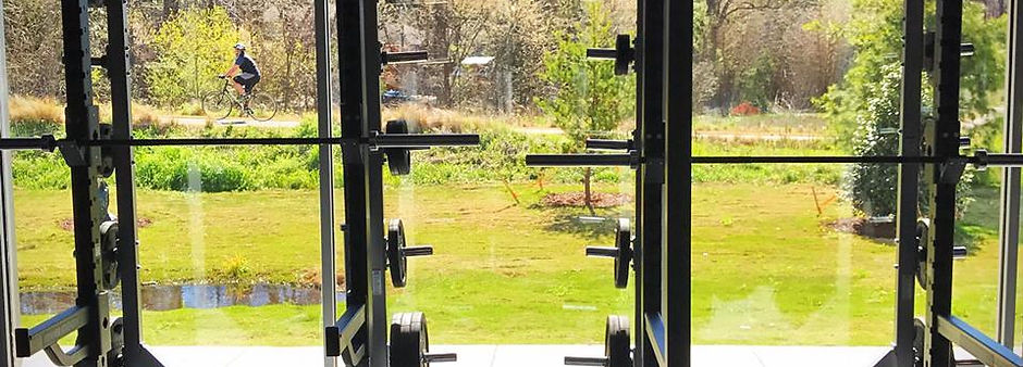 gym with View of Piedmont Park