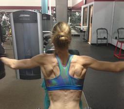 back and shoulders