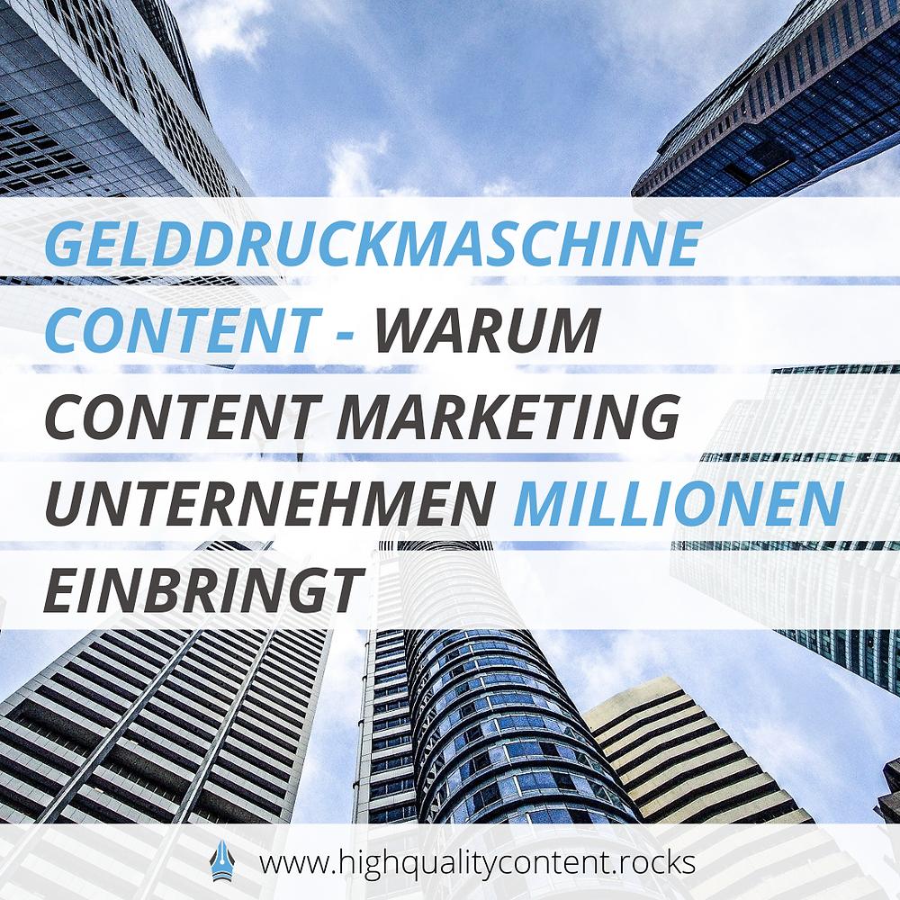 In diesem Artikel verrate ich dir, warum Content Marketing für viele Unternehmen sehr wertvoll sein kann.