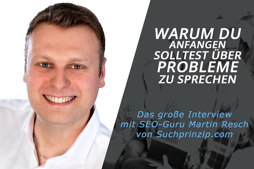 SEO Experte Martin Resch über SEO und Content Marketing