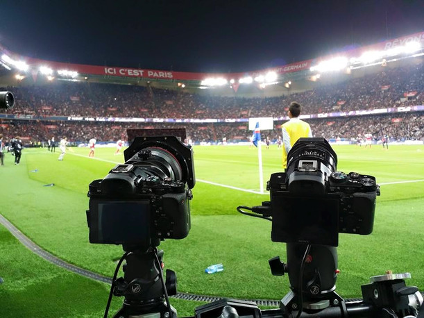 Backstage au Parc de Princes