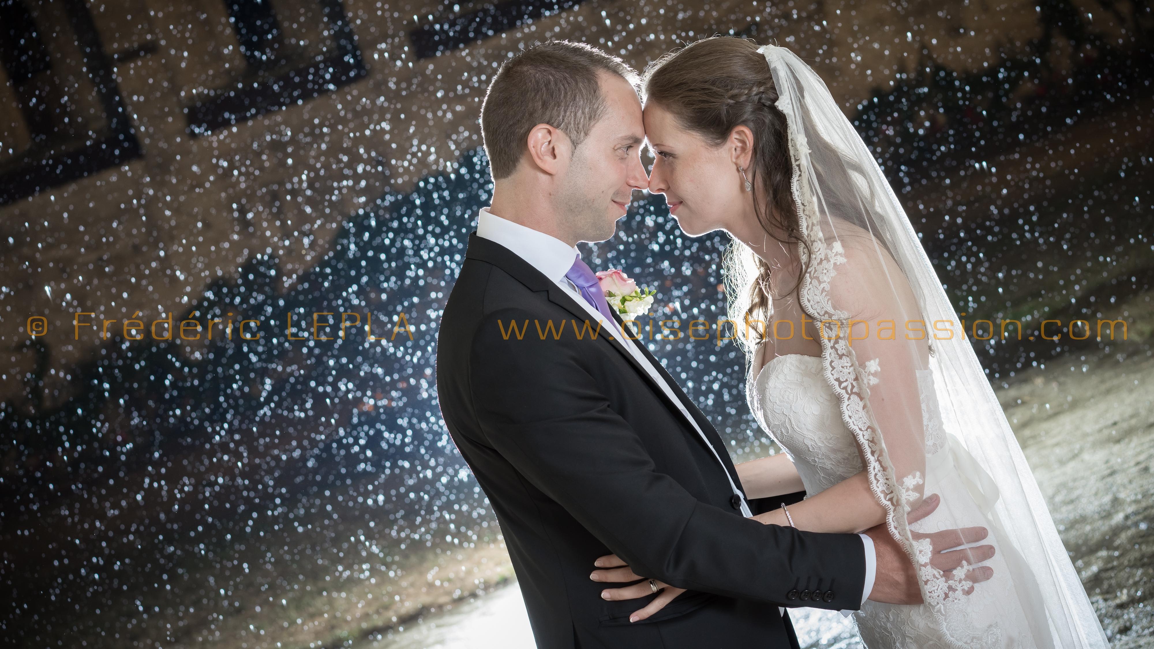Photographie mariage de nuit