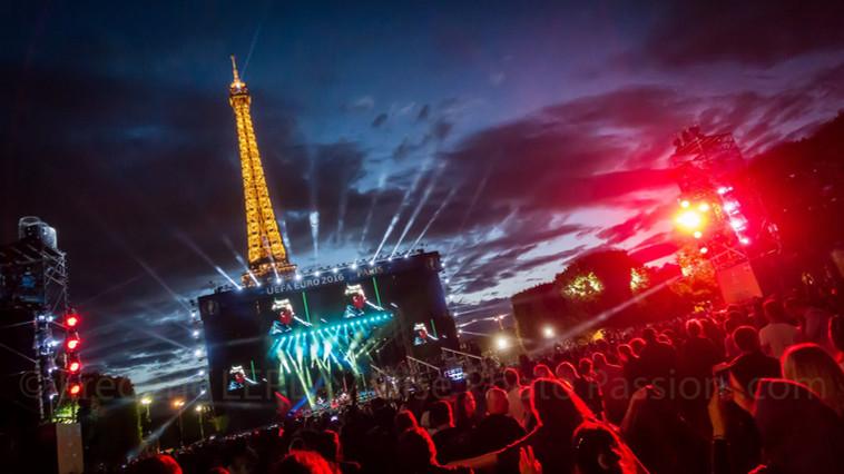 Concert lors de l'Euro 2016