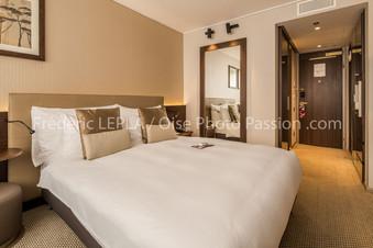 Chambre d'hotel de luxe