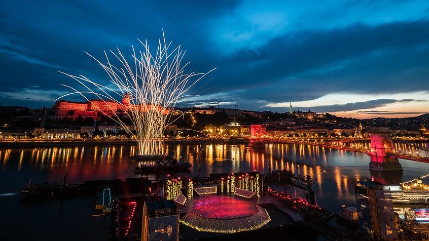 Budapest FINA 2017 Fireworks