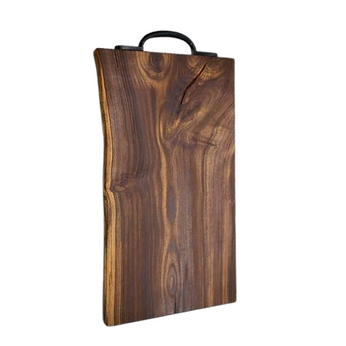 Solid Laburnam chopping/serving board