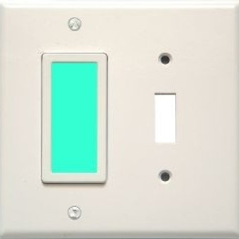 Sidelight for toggle switch