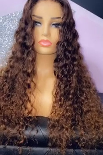 """ Amber "" Ready To Wear Wig"