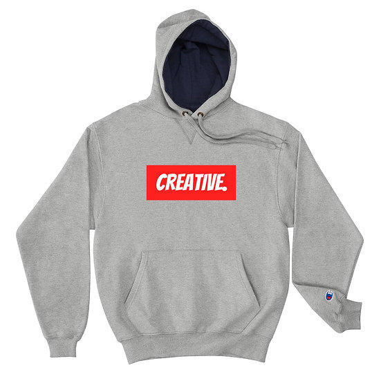 "Æ ""CREATIVE"" Champion Hoodie Red"