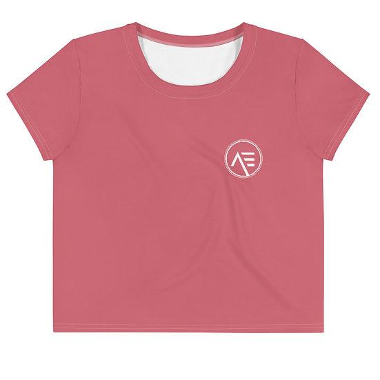 Æ Crop Tee Pink