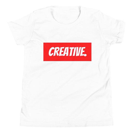 "Æ ""CREATIVE"" Youth Tee Red"
