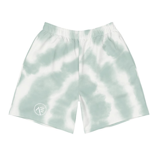 Æ Men's Athletic Shorts Mint Dye