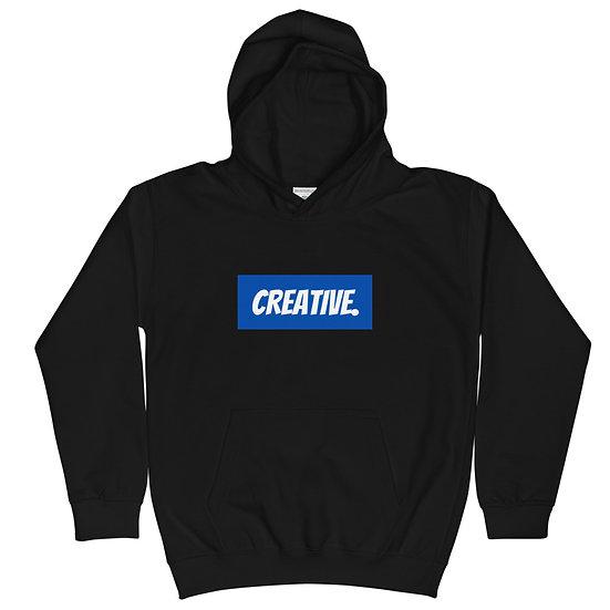 "Æ ""CREATIVE"" Youth Hoodie Blue"