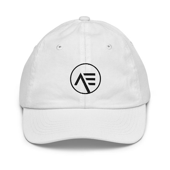 Æ White Youth Cap
