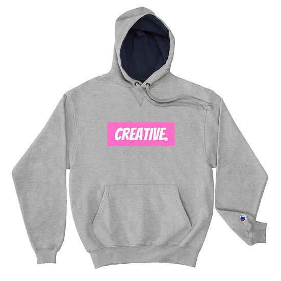 "Æ ""CREATIVE"" Champion Hoodie Pink"