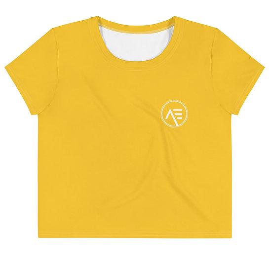 Æ Crop Tee Yellow