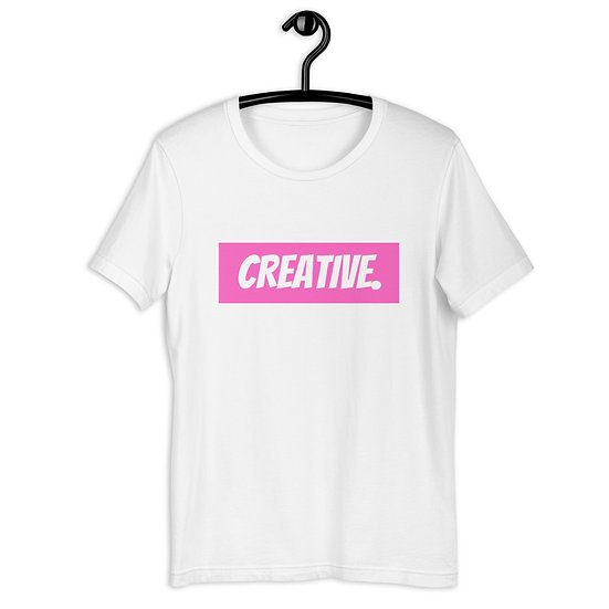 "Æ ""CREATIVE"" Tee Pink"