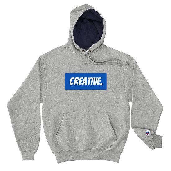 "Æ ""CREATIVE"" Champion Hoodie Blue"