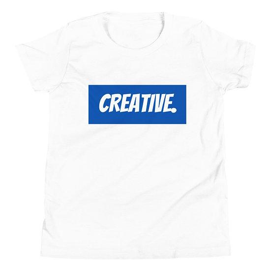 "Æ ""CREATIVE"" Youth Tee Blue"