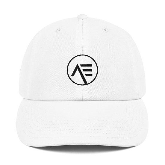 Æ White Champion Dad Cap