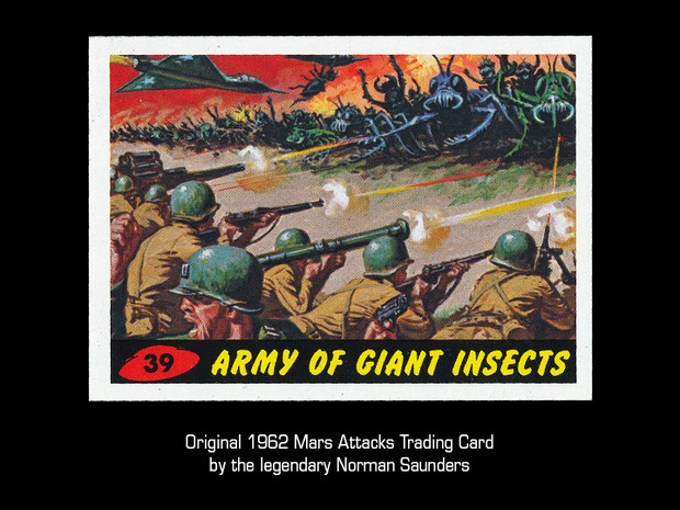 "ORIGINAL ""ARMY OF GIANT INSECTS"""