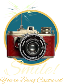 retro camera smile spy capture