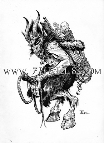 HERE COMES KRAMPUS
