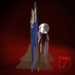 Spooky Pinball/Bela Lugosi Plastic Standup