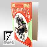 Here Comes Krampus Holiday Cards