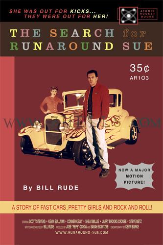 'THE SEARCH FOR RUNAROUND SUE' MOVIE POSTER PROMO 01