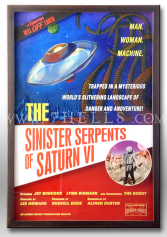 THE SINISTER SERPENTS OF SATURN VI